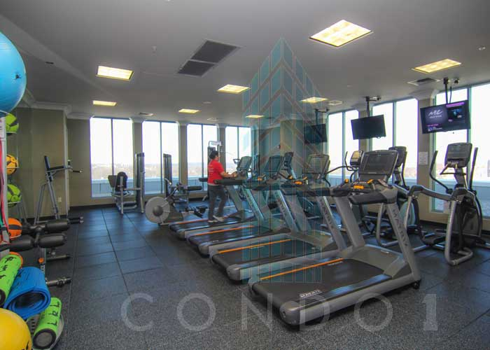 The Gym Facilities at The Continental