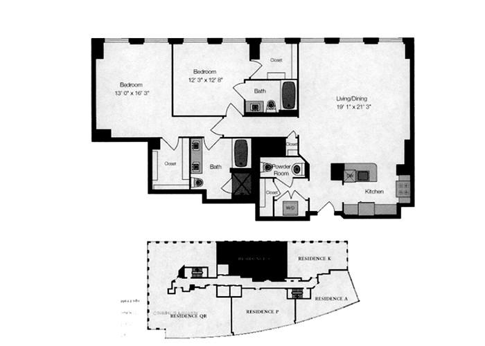 ResidenceS2br2.5baFl25-27