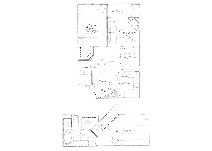 The McKinley Two Bedroom Two Bath